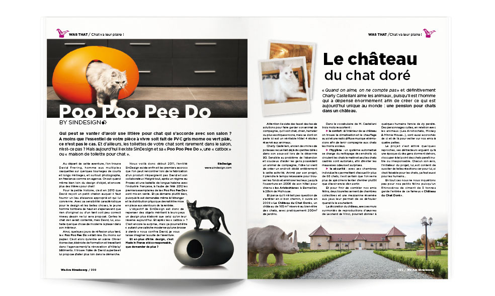 hihadesign claire humbert graphiste freelance was magazine mises en page. Black Bedroom Furniture Sets. Home Design Ideas
